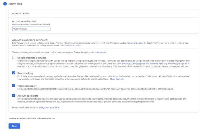 Create Google Analytics Account-1