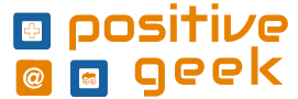 Logo for Positive Geek