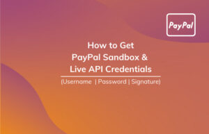 Read More About The Article How To Get Paypal Sandbox And Live Api Username, Password & Signature?