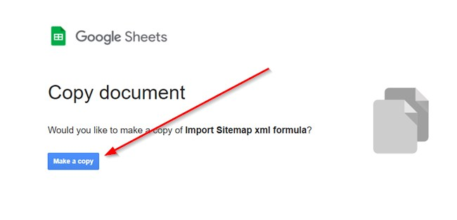 Make A Copy Of The Url Extractor Google Sheet