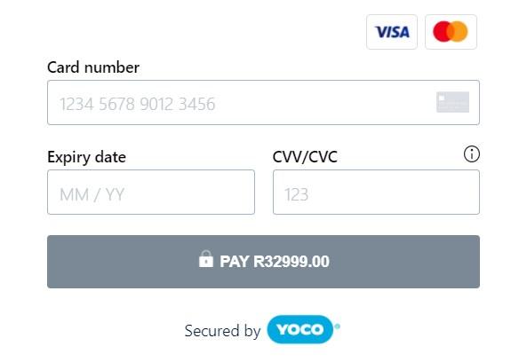 Yoco Pay With Card